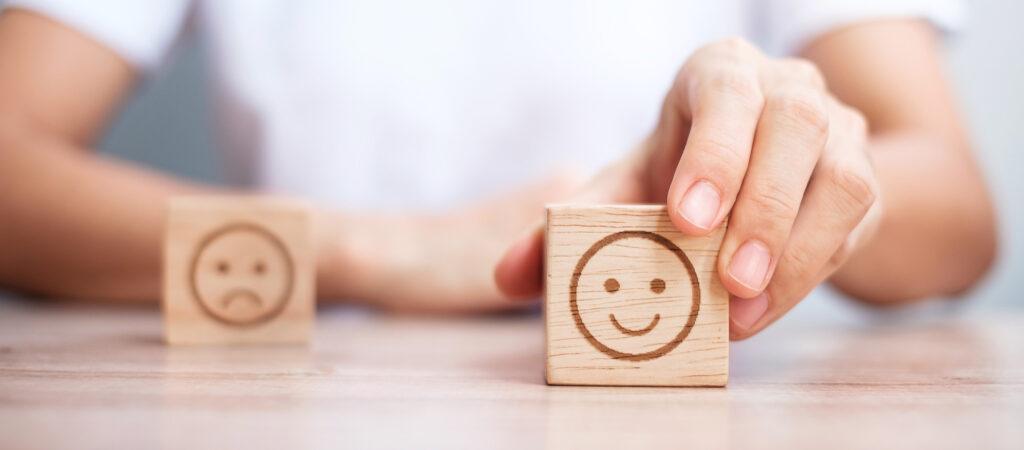 Simplemente, ve el lado positivo de lo que sucede en tu vida